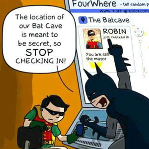 A comic of Batman slapping Robin