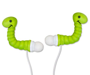 A picture of earphones