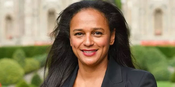 An image of Isabel dos Santos