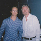 A picture of Martin and Richard Branson
