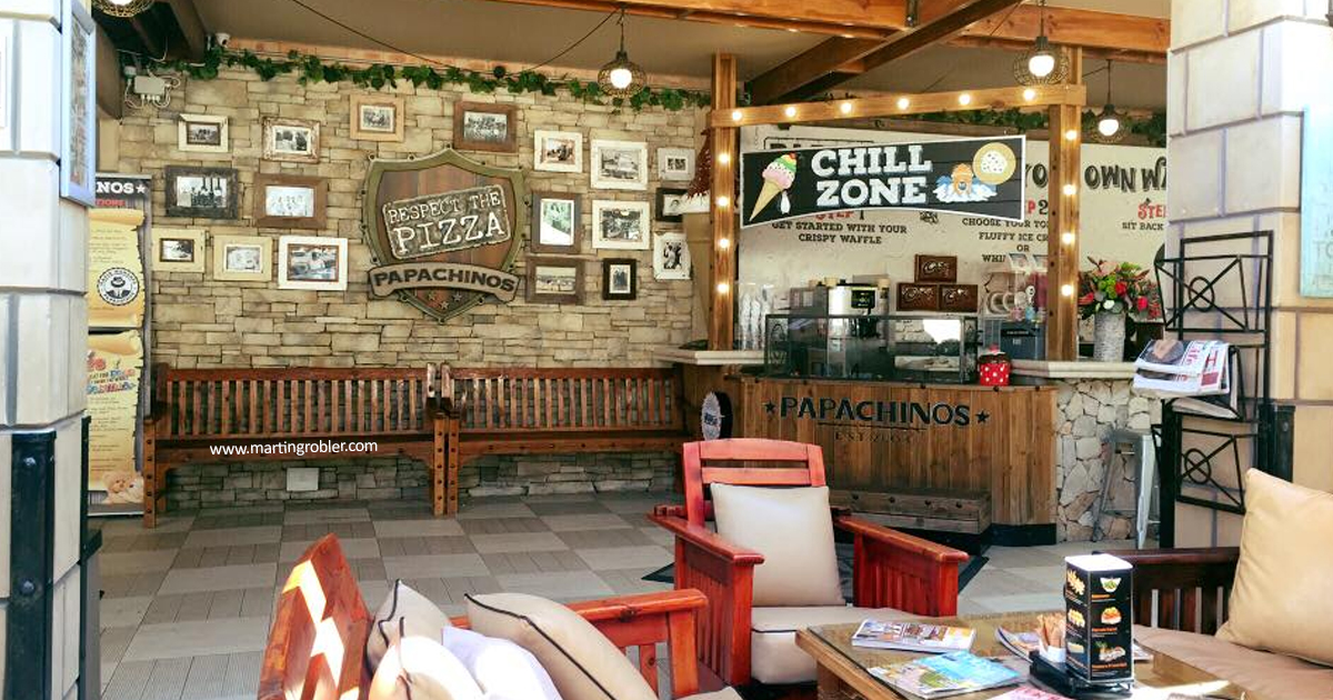 A picture of Papachinos Fourways entrance