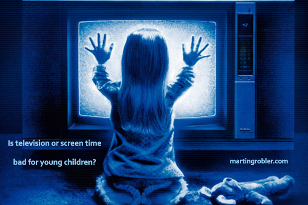 Is television or screen time bad for young children?